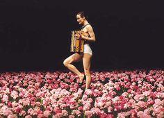 Design is fine. History is mine. — Pina Bausch and her work Nelken, Carnations, 2005....