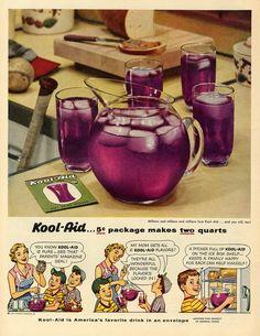 Kool-Aid 1954 advertisement