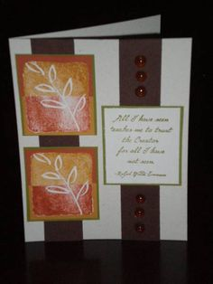 Seeing Double by tay0479 - Cards and Paper Crafts at Splitcoaststampers