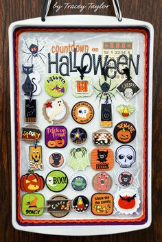 Tailored Pages: Countdown to Halloween