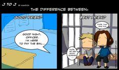 J to J: The difference by KamiDiox.deviantart.com on @deviantART