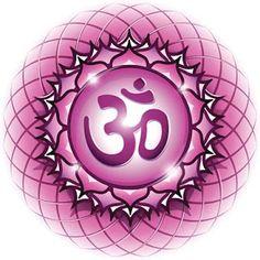 Chakra Symbol The Sahasrara Chakra in the middle of a 7 Chakras, Chakra Symbols, Qigong, Yoga, Hanuman, Filofax, Shiva, Wicca, Healing