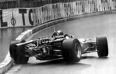 Jean Pierre Beltoise (Matra V12) , Monaco 1968.