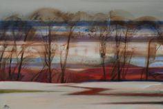 "Saatchi Art Artist Lyudmyla Bohuslavska; Painting, ""Wind"" #art"