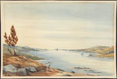 Halifax from the Dartmouth shore. 1845  Archives Search - Library and Archives Canada