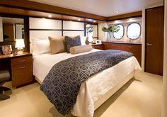#Hatteras 60 Motor Yacht Master Stateroom