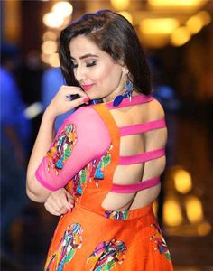 Telugu Film News, Events, Actors, Actress gallery Beautiful Girl Indian, Most Beautiful Indian Actress, Beautiful Saree, Saree Wearing Styles, Saree Backless, Sari Blouse Designs, Stylish Blouse Design, Cute Girl Pic, Curvy Outfits