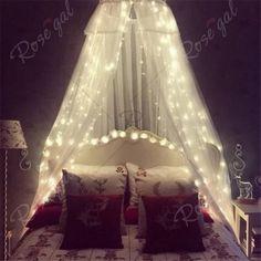 3M x 3M 8-modes 304pcs-Lights String Warm White Decorative Light