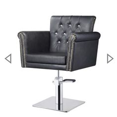The styling chairs we used at      The Shed hair and beauty are now available now to purchase. Available in black or brown