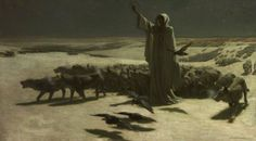 John Charles Dollman - Famine (1904) Currently located at the Salford Museum & Art Gallery.
