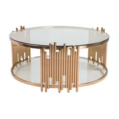 You living room will benefit from the stunning styling of the LIEVO Anabell Coffee Table . Its metal frame is topped in a rose gold finish for glam appeal. Types Of Coffee Tables, Cool Coffee Tables, Coffe Table, Decorating Coffee Tables, Centre Table Design, Center Table, Steel Coffee Table, Lift Top Coffee Table, Steel Furniture