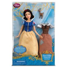 Disney Snow White Singing Doll and Costume Set * To view further for this item, visit the image link. (This is an affiliate link) #DollsAccessories