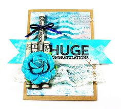 Fun Graduation Gift and Card by Meihsia Featuring ColorBox Artscreens & Spritzers: