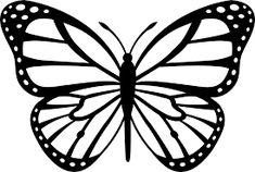 Monarch butterfly pattern & monarchfalter muster & … – Welcome Monarch Butterfly Costume, Monarch Butterfly Tattoo, Butterfly Outline, Butterfly Stencil, Butterfly Clip Art, Butterfly Template, Butterfly Painting, Butterfly Wallpaper, Butterfly Pattern