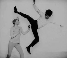 Sharon Tate & Bruce Lee