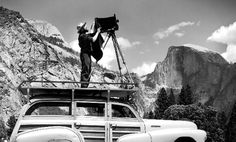 """PhotoQuotes - Ansel Adams: """"A true photograph need not be explained, nor can it be contained in words""""."""