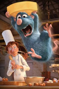 Pin for Later: Halloween: Over 100 Disney Costumes That Will Win Every Contest Ratatouille Options: Remy the rat, Linguini the chef, Colette Tatou, Anton Ego, Emile the rat Art Disney, Film Disney, Disney Movies, Disney Pixar, Punk Disney, Pixar Movies, Disney Characters, Disney Phone Wallpaper, Cartoon Wallpaper Iphone