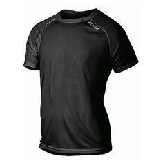 Shirts 59368: 2Xu Mens Tech Vent Running Top - Black - Mens Medium -> BUY IT NOW ONLY: $31.99 on eBay!