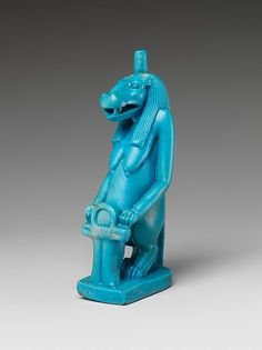 Statuette of the Goddess Taweret, 332-30 B.C. The Metropolitan Museum of Art, New York. Gift of Edward S. Harkness, 1926 (26.7.1193)