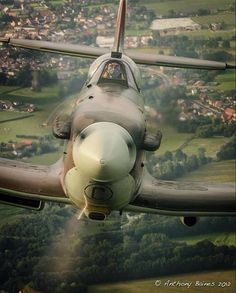What a sweet shot this is, imagine flying a bf109 and seeing this in your rear view mirror