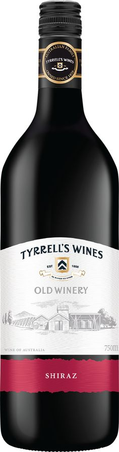 Tyrrell's 'Old Winery' Shiraz 2013 James Haliday's - Wine Companion - Top 5 Star Winery A smooth, soft and spicy red wine No need to wait, this is ready to be enjoyed now! Wine Australia, Wines, Red Wine, Spicy, Smooth, The Unit, Star, Stars, Red Sky At Morning