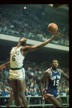 Bill Russell - greatest basketball player of all time.