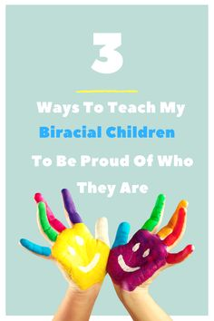 Teaching My Biracial Children To Be Proud Of Their Culture. Encouraging your biracial child to be comfortable in their own skin can be hard. Here are a few tips for your multicultural family.