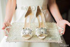 How Royal Do These Satin Oscar de la Renta Bridal Shoes Look On This Platter? Luxury Wedding Dress, Chic Wedding, Wedding Details, Dream Wedding, Wedding Day, Wedding Decor, Bridal Shoes, Wedding Shoes, Blush Color Palette