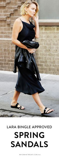 The ONLY sandals you need this spring, according to Lara Worthington
