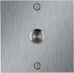 Square Stainless Steel Doorbell   Modern   Shop By Style   Doorbells