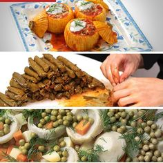 Some Turkish Vegetable Dishes With Olive Oil...