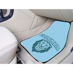 Columbia Lions NCAA Car Floor Mats (2 Front)