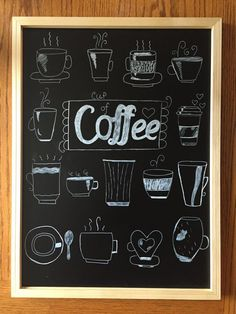 coffee cup chalk art #chalkbychalyse