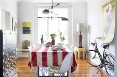 Eclectic Dining Room photo by Burnham Design