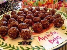 Apple Pie Bites! Gluten Free, Vegan, Specific Carb Diet, SCD Friendly, Paleo!  gluten free baby shower!  glutenfreehappytummy