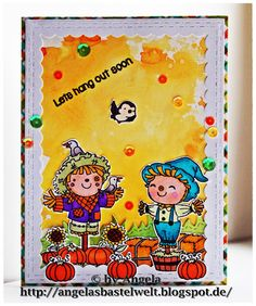 Craftin Desert Divas Fall Card with Harvest Happiness Stamp Set
