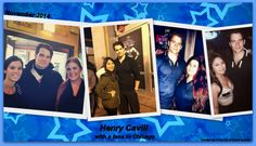 Henry Cavill with a fans in Chicago November 2014