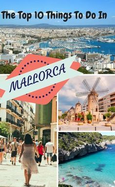 Looking for things to do in Mallorca to make your next holiday amazing? From beaches in Alcudia to postcard views in Port de Soller, the city centre of Palma de Mallorca and even underground caves, this Spanish island has a lot to offer - you just need to know where to find it. And now you can, by visiting the 10 best places to go and things to do in Mallorca - plan your perfect holiday today!