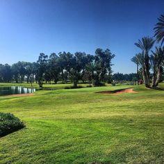 Blue sky & green fairways  #golf #golfbroadcaster #thegolfstagram #mylife #mygolf #fun #morocco