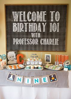 Cool Chemistry Inspired Science Party {9th birthday} I would have love to go to this growing up. Wait, I'd go now if invited! Lol