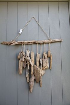 driftwood for sale driftwood art gallery Driftwood For Sale, Painted Driftwood, Driftwood Projects, Driftwood Art, Driftwood Ideas, Driftwood Mobile, Beach Crafts, Nature Decor, Wind Chimes