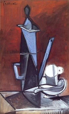 "Pablo Picasso: ""The Blue Coffee Pot Cubism Period Art Picasso, Picasso Paintings, Picasso Blue, Georges Braque, Cubist Movement, Prado, Oeuvre D'art, Art History, Amazing Art"