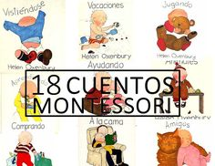 Aprendiendo con Montessori: 18 Cuentos Montessori de Helen Oxenbury Maria Montessori, Montessori Activities, Toddler Activities, Preschool Education, Teaching Kids, Kids Learning, Mindfulness For Kids, Maila, Cooperative Learning