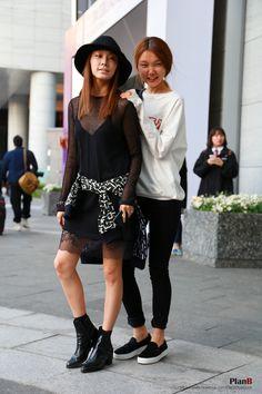 2014 S/S Seoul fashion week street style