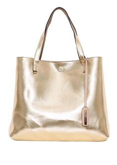 Reversible Tote in Gold | Necessary Clothing