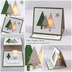 Lit Up Christmas Card - tutorial on the link