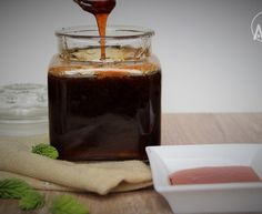Med ze smrkových výhonků - Recept od myTaste Chocolate Fondue, Homemade, Canning, Desserts, Food, Syrup, Tailgate Desserts, Deserts, Home Made