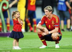 Fernando Torres Nora Torres -- When asked what his favorite part of winning....he answered seeing his kids celebrating afterwards!  Love this guy!