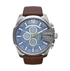 Diesel Brown Mega Chief Watch
