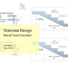 Σχεδιασμός Σκάλας – Υπολογισμός Ρίχτι / Πάτημα